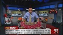 Cramer's strategy amid bubble talk