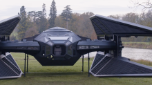 Life-size, fan-built replica of Kylo Ren's 'Last Jedi' TIE fighter will blow your mind