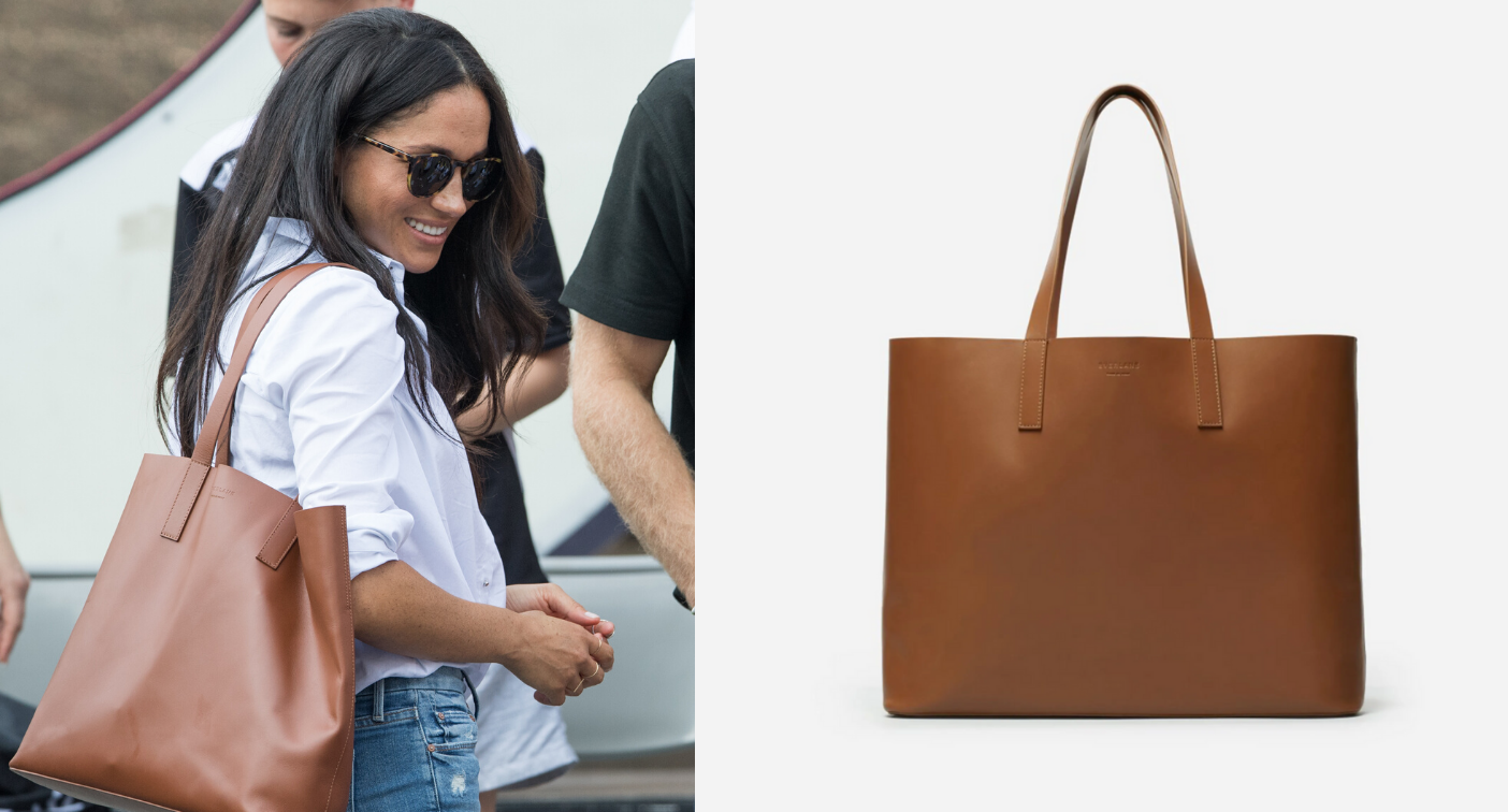 Meghan Markle's Everlane tote bag on sale for a limited time