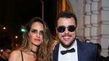 Isis Valverde e mais celebridades curtem Halloween do Copa