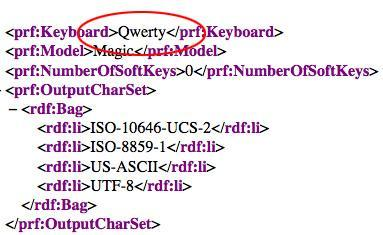 HTC Magic's user agent profile says it has a QWERTY keyboard, possible myTouch Slide for T-Mobile?