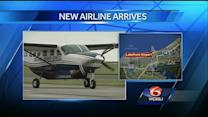 Commercial passenger airline comes to Lakefront Airport