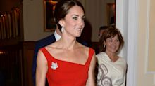You can now buy a version of the Duchess of Cambridge's red Preen dress for just £69