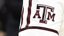 Texas A&M hurdler Infinite Tucker makes fearless dive to win SEC title