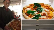 Pilot orders 23 pizzas for stranded passengers