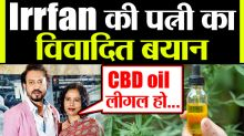 Irrfan Khan's Wife Sutapa Sikdar Appeals For Legalisation of CBD Oil in India