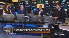 Nasdaq screaming forward as tech stocks surge