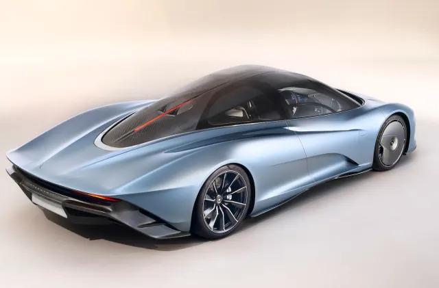 McLaren's $2.25 million Speedtail hybrid boasts 250MPH speeds