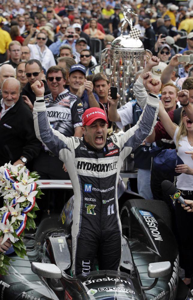 APNewsBreak: Tony Kanaan moving to Ganassi Racing