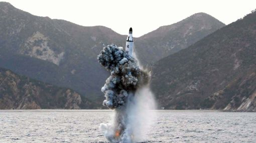 North Korea test fires submarine-launched missile