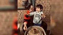 Mom-To-Be Kareena Tries Her Hand at Pottery With 'Lil Man' Taimur