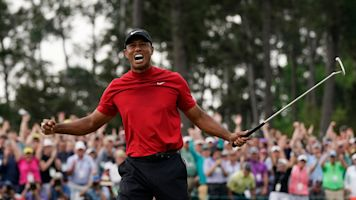 Tiger Woods praises, then roasts gambler who bet on him to win Masters, Grand Slam