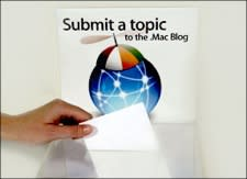 The official .Mac blog wants you