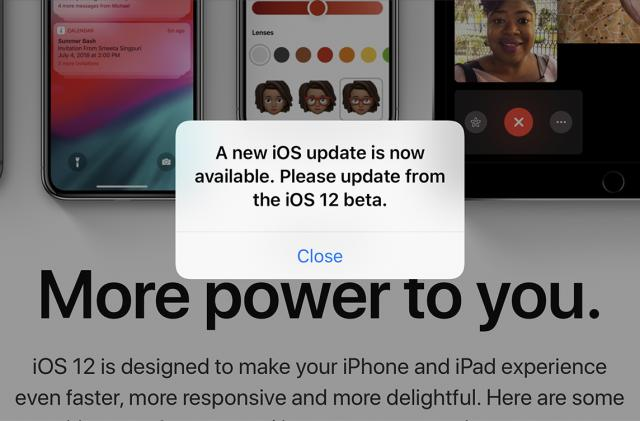 Apple's iOS 12 beta is driving everyone crazy
