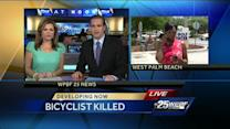 Bicyclist's body discovered hours after hit-and-run crash