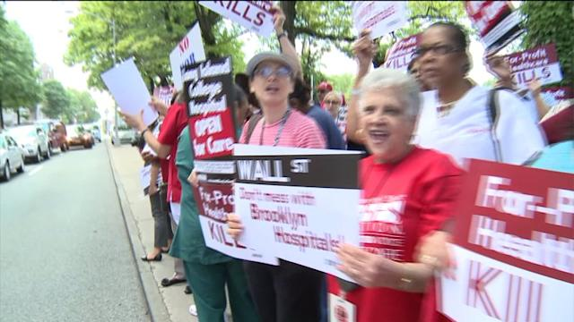 Residents Protest Hospital Restrictions