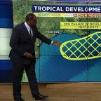 Tropical Depression #3 fizzles as it moves away from Florida; watching the Gulf for development
