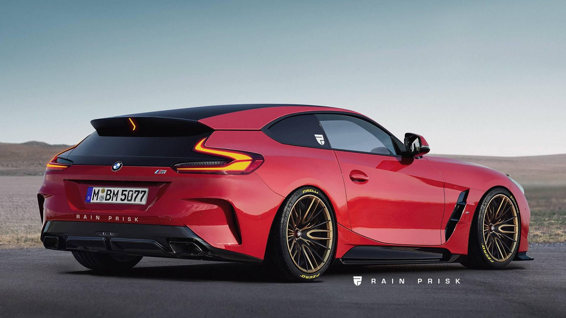2019 Bmw Z4 Morphs Into Epic M Coupe