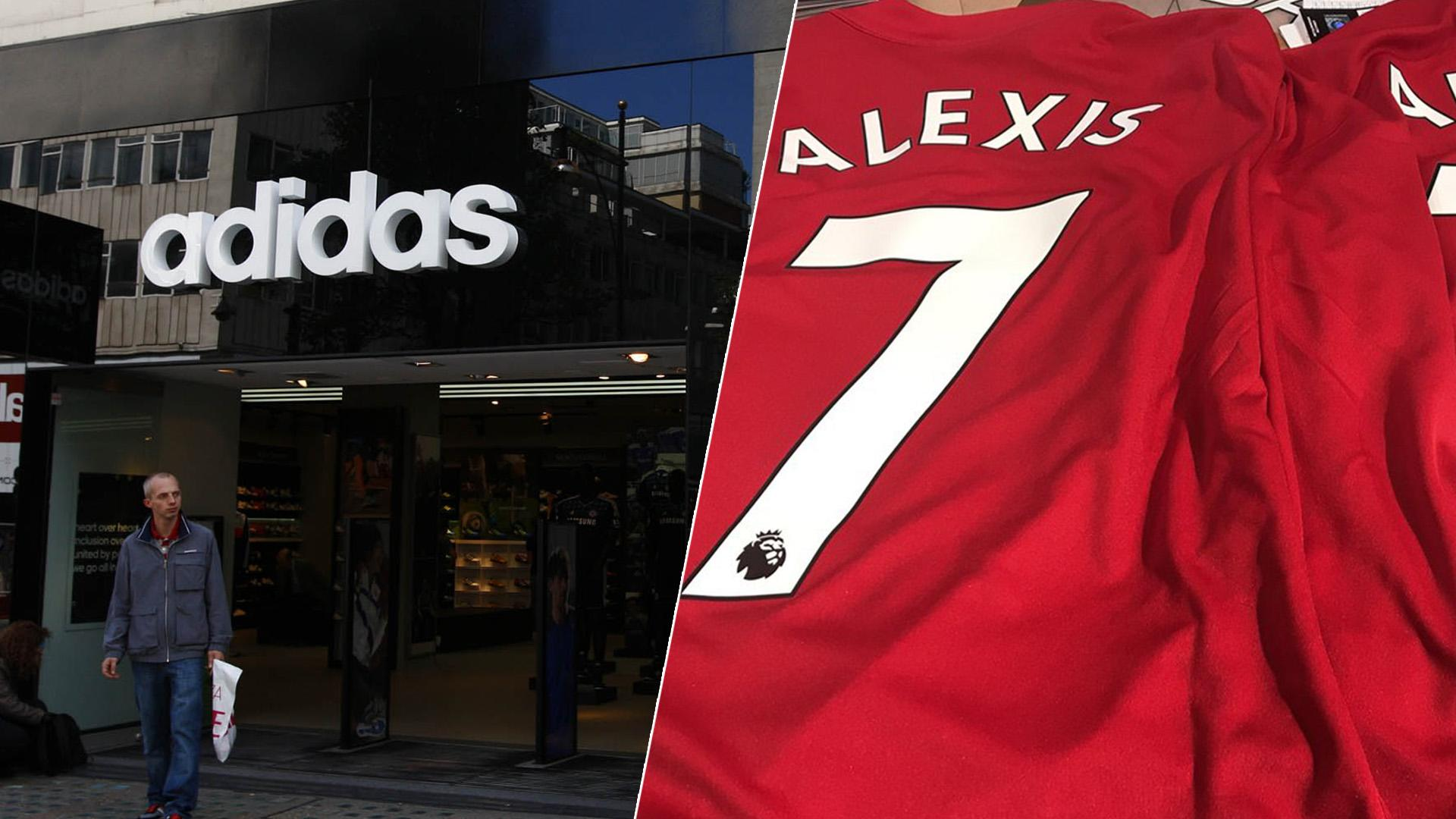sports shoes d709d 7e9a0 Alexis Sanchez Manchester United shirts already being sold