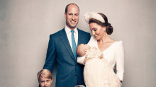 There were two major firsts in Prince Louis's christening photos (and neither involve him)