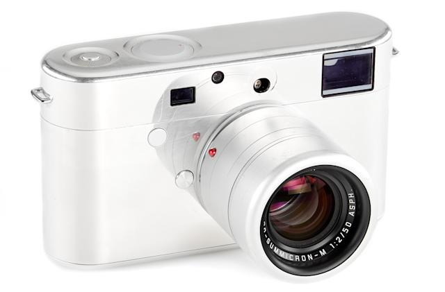 A Jony Ive-designed Leica camera prototype is going up for auction