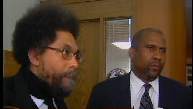 Tavis Smiley and Cornel West in Detroit