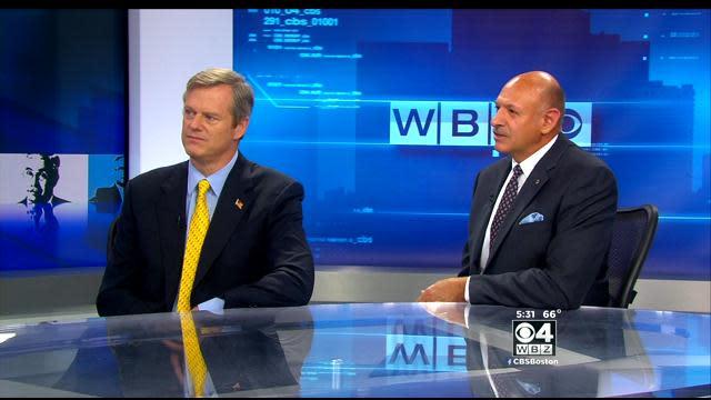 Keller @ Large: Baker, Fisher Show Sharp Differences In WBZ-TV Roundtable