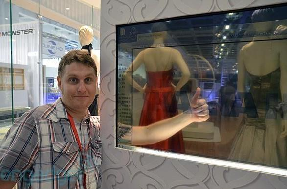 Haier's 46-inch transparent display shows up at IFA, we go eyes-on (video)