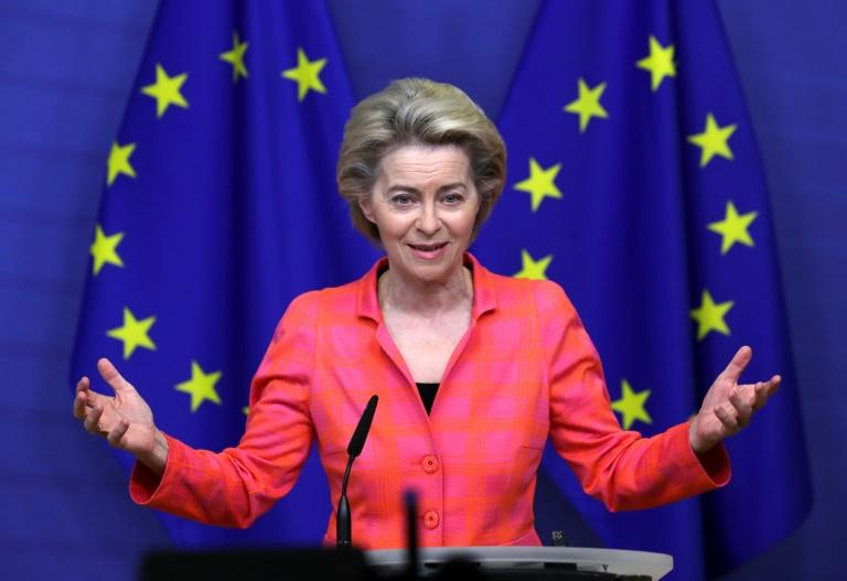European Commission President Ursula von der Leyen says there is still a lot of work ahead
