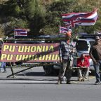 The Latest: Telescopes near Hawaii protest pause operations