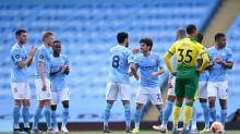 Na despedida de David Silva da Premier League, De Bruyne dá show, iguala Henry, e City goleia o Norwich
