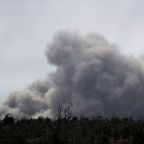 Hawaii volcano belches new ash plume as geothermal wells secured from harm