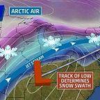 New York City to be hit by massive 'Tennessee Valley' storm bringing 'over a foot of snow'