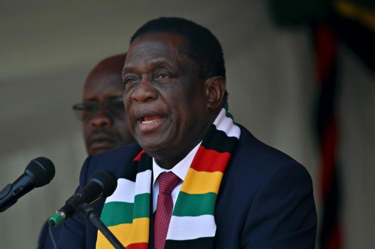"Zimbabwe's President Emmerson Mnangagwa said in annual speech that his government's economic reforms ""are beginning to bear fruit"""