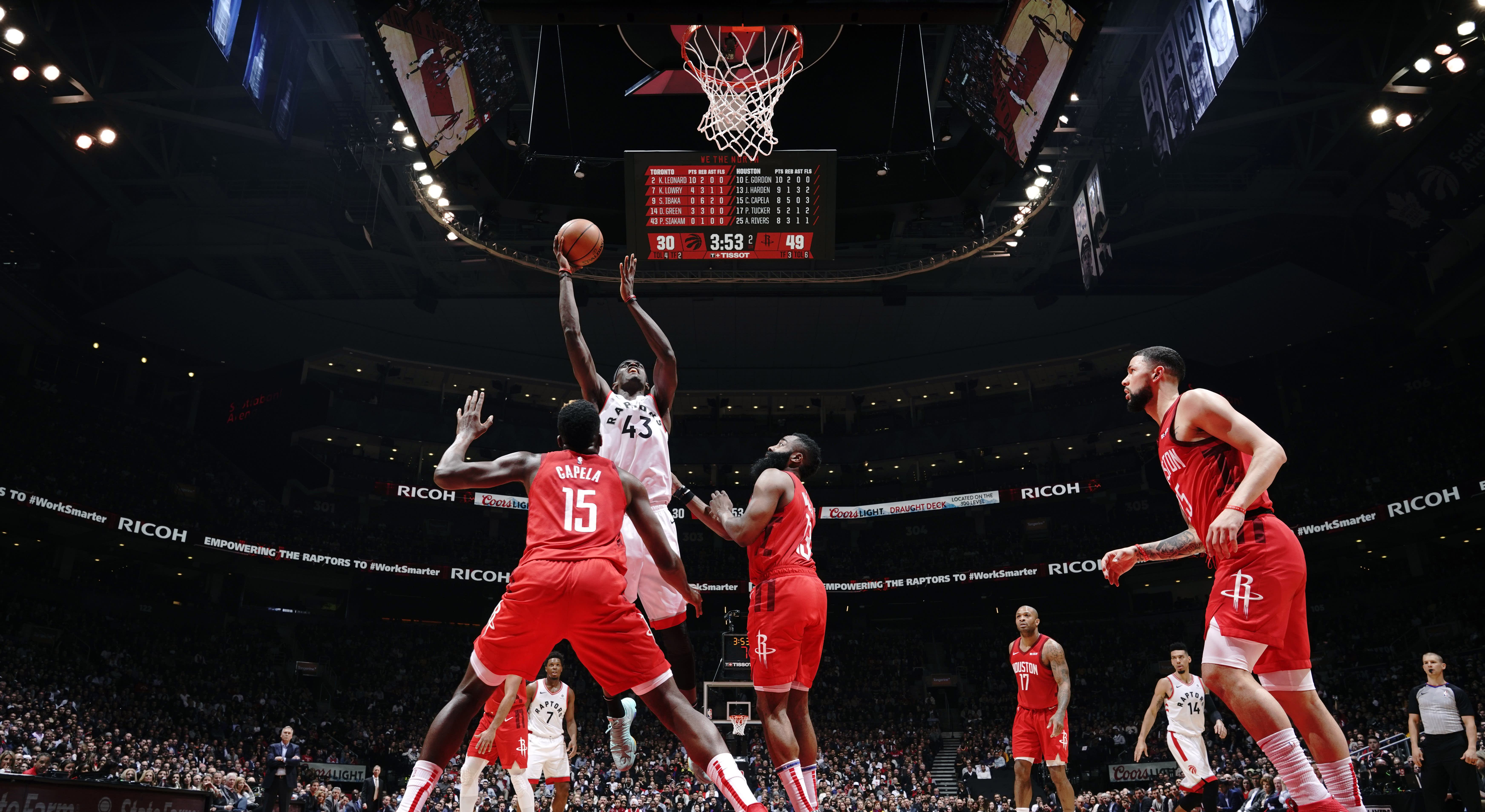 821dfa29a Pascal Siakam outscores the Rockets in 3rd quarter