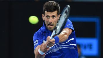 Djokovic reaches semis after Nishikori retires