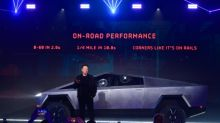 Tesla suffers broken glass mishap during chaotic launch