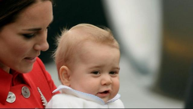 Prince George's First Overseas Visit