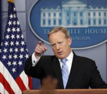 Departing White House press secretary says good riddance to press