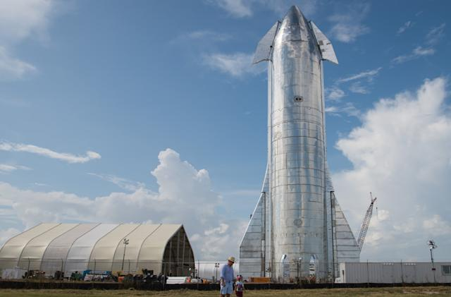 SpaceX asks permission to take Starship on a high-altitude test flight