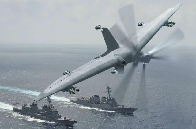 DARPA wants a military drone that can land on small ships