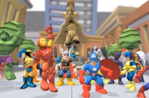Super Hero Squad Online video highlights fun and accessibility