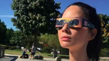 Celebrities were seriously excited about the eclipse