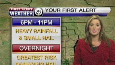 Overnight Hours Could Be Stormy