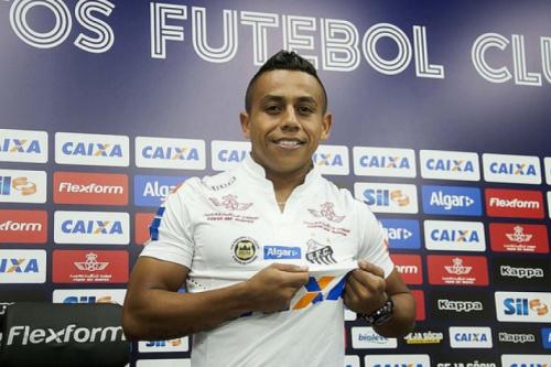 Vladimir Hernández é registado no BID e pode estrear pelo Santos