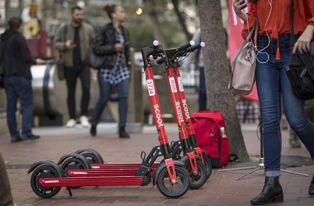 Scoot will add locks to its scooters to combat theft and vandalism