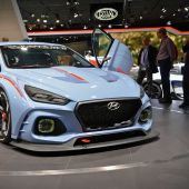 Hyundai's RN30 concept is armed with 375 hp and an array of cameras