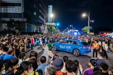 Audi e-tron現身2020台北白晝之夜!攜手藝術家陶維均、樊宗錡共創未來生活想像