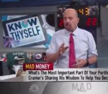 Cramer: Consider what you want from the market before diving into stocks