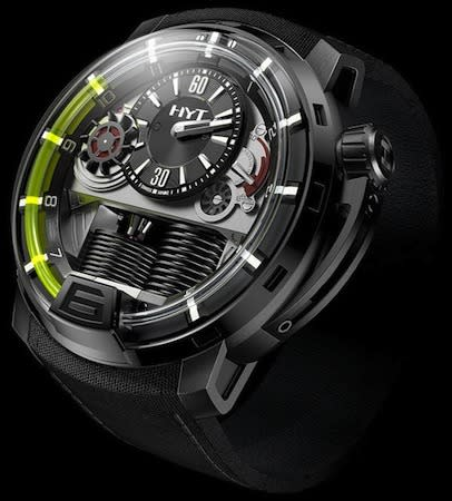 Hydromechanical watch concept pumps away the hours for horologists (video)